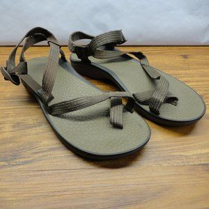 Chaco Sandles Brown Strappy Toe Mens Size 13